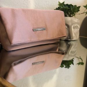 GIORGIO ARMANI fold over make up bag